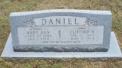 "Clifford Hugh ""Cliff"" Daniel"