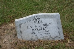 "Rev B J ""Billy"" Barkley"