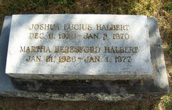 Joshua Lucius Halbert