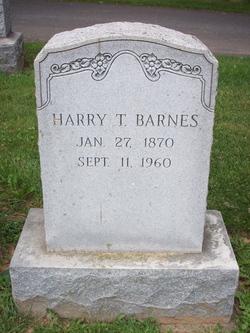Harry Thomas Barnes