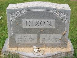 May Ella <I>Barnes</I> Dixon