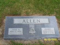 Emma Jane <I>Adams</I> Allen
