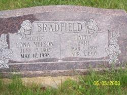 Edna <I>Nelson</I> Bradfield