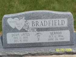 "Susan Isadora ""Dora"" <I>Yates</I> Bradfield"
