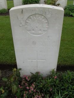 Lance Corporal Ernest East