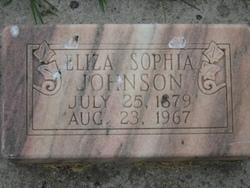 Elizabeth Sophia Johnson