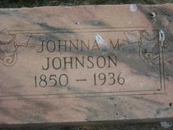 Johanna Maria <I>Christensen</I> Johnson