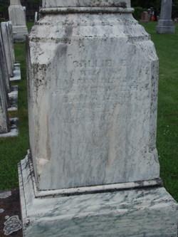 Callie E. <I>Niles</I> Bishop