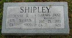 Jesse K. Shipley