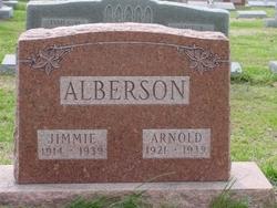 """Arnold H. """"Hallie"""" Alberson"""