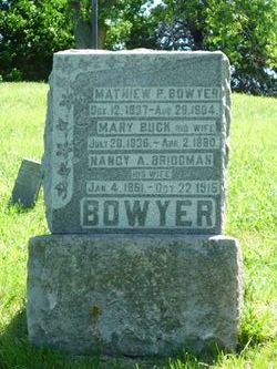 Mary <I>Buck</I> Bowyer