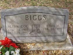 """Alton Francis """"Doc"""" Biggs"""