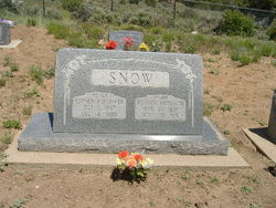 Esther <I>Pulsipher</I> Snow