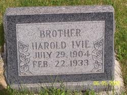Harold Ivie