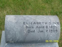 Elizabeth <I>Dobson</I> Ivie