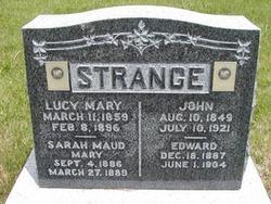 Lucy Mary <I>Cottrell</I> Strange