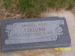 Mabel Ann Esklund