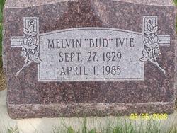 """Melvin """"Bud"""" Ivie"""