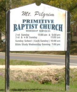 Mount Pilgrim Primitive Baptist Church Cemetery