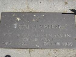 Orvil H Walker