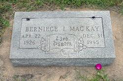 Berniece Irene <I>Haney</I> MacKay