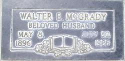 Walter Eugene Mcgrady