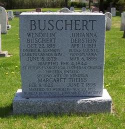 Johanna <I>Derstein</I> Buschert