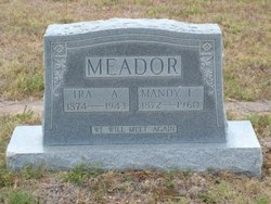 Mandy E <I>Lee</I> Meador