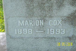 Marion <I>Cox</I> Henson