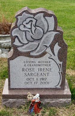Rose Irene <I>Monroe</I> Sargeant