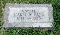 Mabel W. Baer