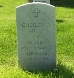 Chesley R. Mills