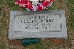 Janie Ruth <I>Collins</I> Berry