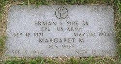 Margaret M <I>Raifsnider</I> Sipe