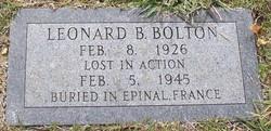 Leonard B. Bolton