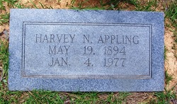 Harvey N Appling