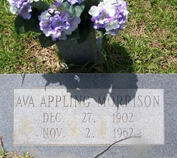 Ava <I>Appling</I> Morrison