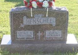 Lucille Angela Maria <I>Hoffman</I> Henschel