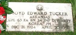 Boyd Edward Tucker