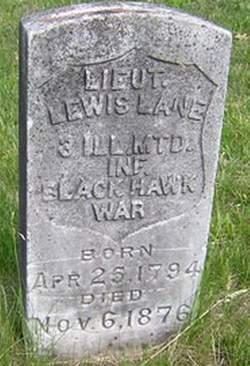 Lieut Lewis Lane