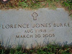 Florence Vaden <I>Jones</I> Burke