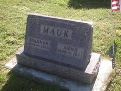 Anna E. <I>Scott</I> Mauk