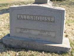 Mary D <I>Fraas</I> Allshouse