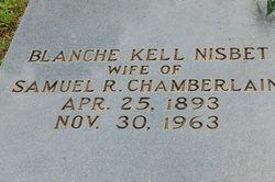 Blanche Kell <I>Nisbet</I> Chamberlain