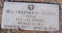 Ira Greenleaf Clark