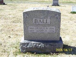 Addie <I>Caswell</I> Ball