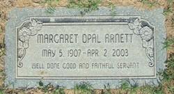 """Margaret Opal """"Witt"""" <I>Witt</I> Arnett"""