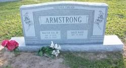 Sally Kate <I>Clark</I> Armstrong