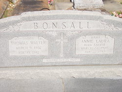 Annie Laura <I>Savoie</I> Bonsall
