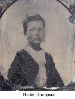 "Harriet B. ""Hattie"" <I>Thompson</I> Abraham"